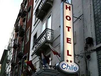 Hotel do Chile, Hotell i Lissabon