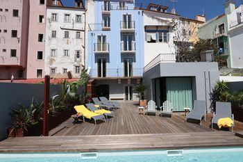 Light Blue Apartments - Downtown Lisbon, Hotell i Lissabon
